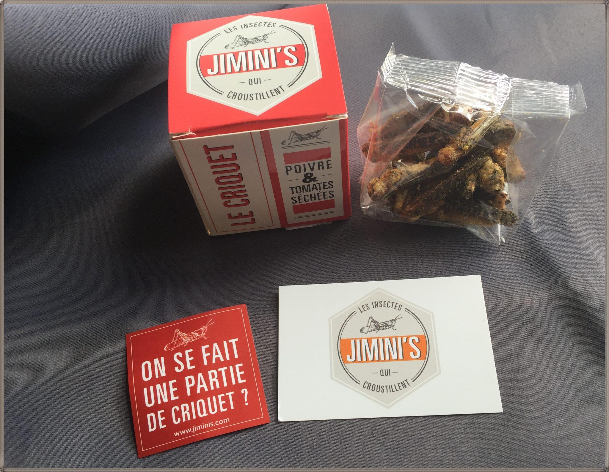 Le top des testeuses Criquets Comestibles Jimini's Alimentaire