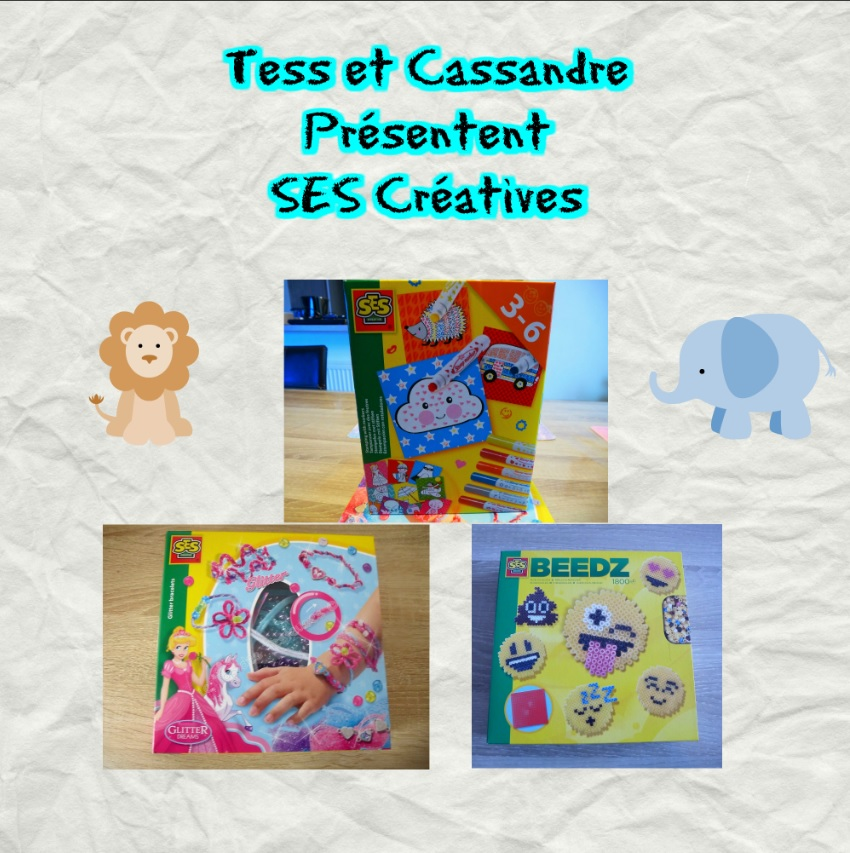 Le top des testeuses Ses Créative, Tess et Cassandre testent pour nous !! Loisirs