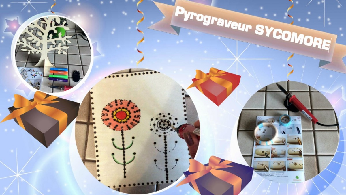 Le top des testeuses Pyrograveur Sycomore Lovely Box Loisirs