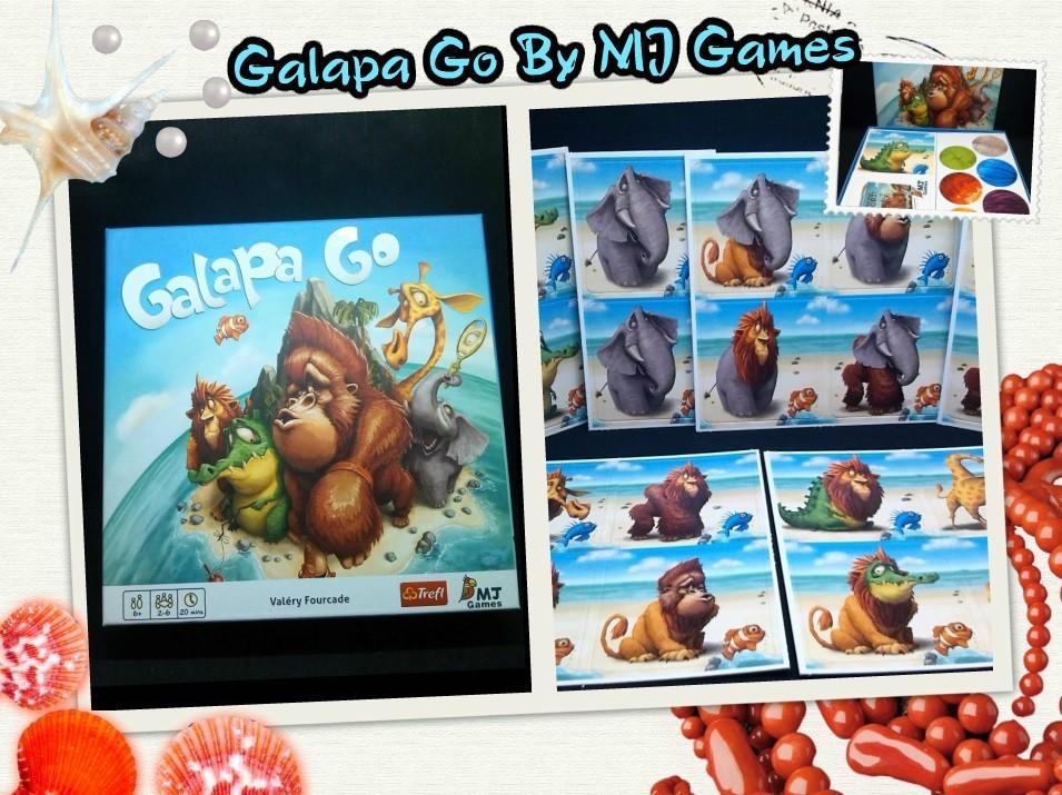 Le top des testeuses Galapa Go quand amusement rime avec rapidité !! Jeux de Société MJ Games